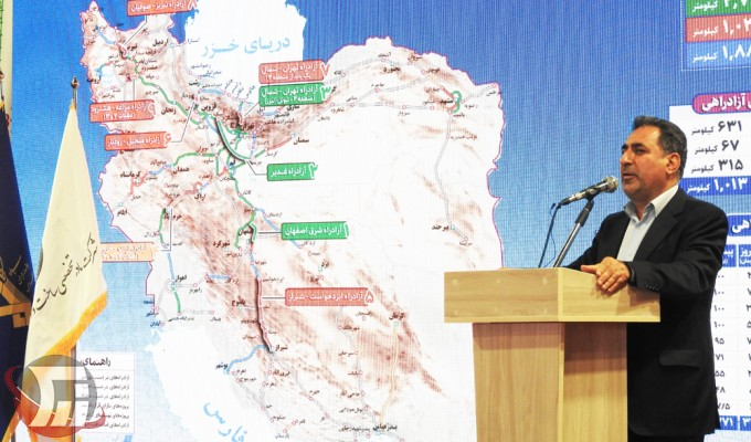 خیرالله خادمی مدیرعامل شرکت ساخت توسعه زیربناهای حمل و نقل کشور