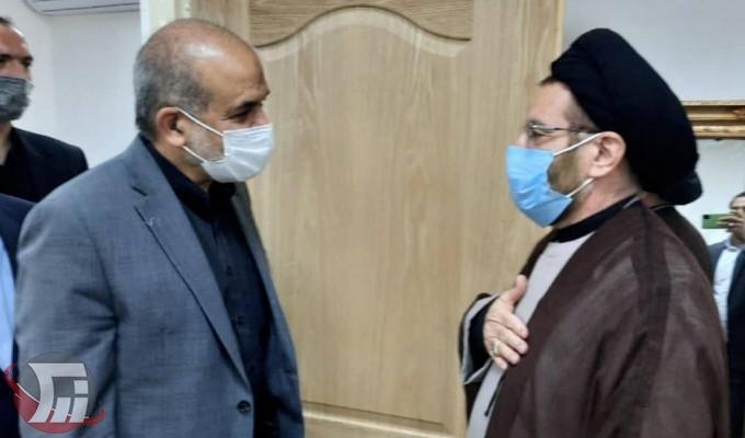 دیدار وزیر کشور با نماینده ولیفقیه در لرستان