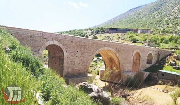 پایان مرمت پل تاریخی «کاکارضا» در سلسله
