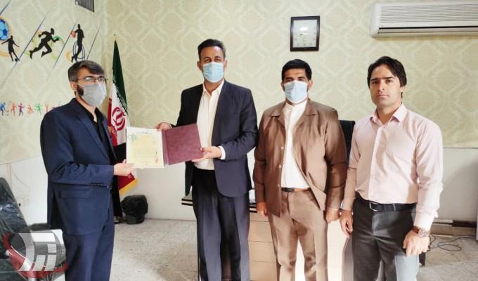 انتصاب رئیس هیئت ورزشهای نابینایان خرمآباد