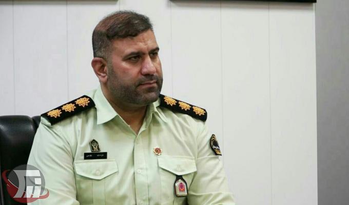 سرهنگ عزت الله غلامي فرمانده انتظامي شهرستان بروجرد