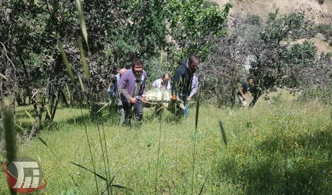 جسد جوان ۲۷ ساله غرق شده در آبشار «بیشه» پیدا شد