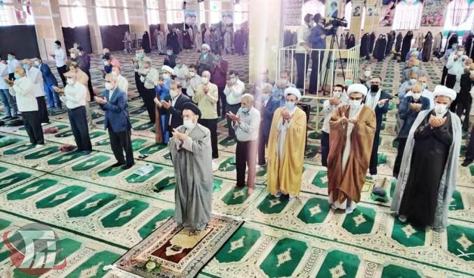 اقامه نماز عید قربان در خرمآباد
