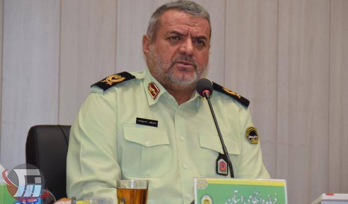 سردار محمد مهدیان نسب فرماندهی انتظامی لرستان