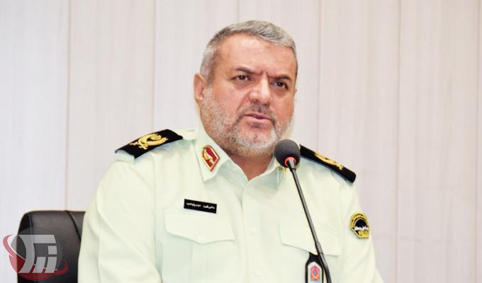 سردار محمد مهدیان نسب فرمانده انتظامي لرستان