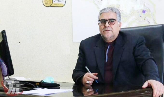 عباس ملک محمودی شهردار الیگودرز