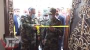 افتتاح ۶۴ مسکن کارکنان ارتش در خرمآباد