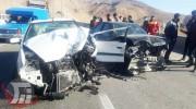 سه مصدوم در سانحه رانندگی محور خرمآباد ـ بروجرد