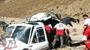 سقوط یک فروند بالگرد در ارتفاعات «لالی» الیگودرز
