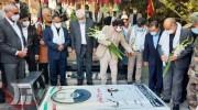 ادای احترام وزیر کشور به مقام شامخ شهدای لرستان