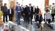 ادای احترام وزیر بهداشت به مقام شامخ شهدای گمنام