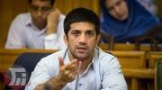 علیرضا دبیر رئیس فدراسیون کشتی ایران