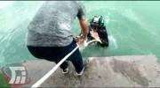غرق شدن جوان خرمآبادی در دریاچه کیو