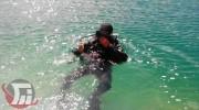 اعزام تیم غواصی برای پیدا کردن جسد فرد غرق شده در رودخانه «سزار» + فیلم