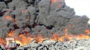 دستگیری عامل آتش سوزی لاستیکهای فرسوده در پلدختر