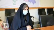 مریم کوشکی معاون بهداشت دانشگاه علوم پزشکی لرستان