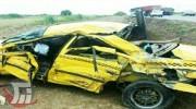 مرگ مادر باردار دلفانی در واژگونی تاکسی