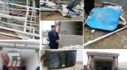 خسارت ۱ میلیاردی وزش باد در بخش کوهنانی