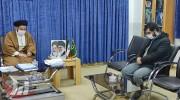 دیدار مدیر عامل بنیاد احسان ستاد اجرایی فرمان حضرت امام (ره) با نماینده ولی فقیه در لرستان