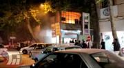 آتشسوزی کارگاه شیرینیپزی در خرمآباد