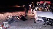 9 کشته و زخمی در تصادف خونین محور خرمآباد ـ بروجرد